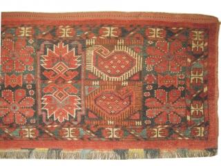 Turkmen antique, collectors item, Size: 150 x 42 cm  carpet ID: MH-7 Thick pile, perfect condition.