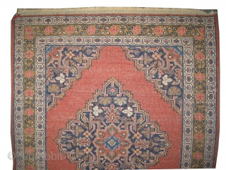 """Malaier Persian knotted circa in 1910 antique, collector's item,  68 x 55 (cm) 2' 3"""" x 1' 10""""  carpet ID: K-4578 In perfect condition, the knots are hand spun lamb wool,  ..."""