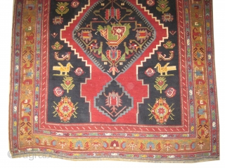 "Karabag Caucasian knotted circa in 1925 semi antique, 324 x 187 (cm) 10' 7"" x 6' 2"" 
