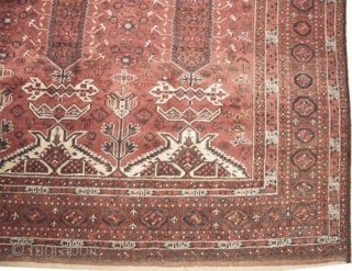 "Belutch Persian circa 1920 Semi antique, Size: 418 x 230 (cm) 13' 8"" x 7' 6"" 