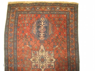 Karadja Persian, knotted circa in 1918 antique, 98 x 144 cm, carpet ID: DD-25