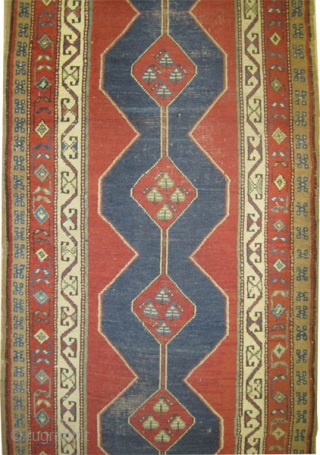 "Louristan Persian, circa 1905, antique. Collector's item, Size: 456 x 107 (cm) 14' 11"" x 3' 6""  carpet ID: K-2394 