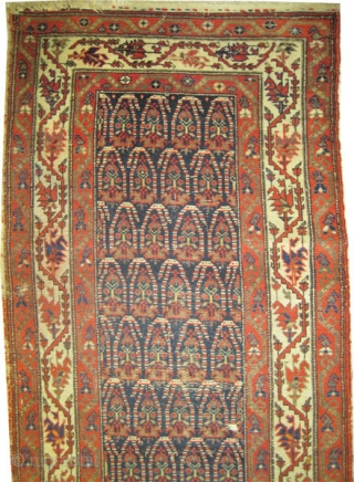 "Malaier Persian, circa 1905, antique. Collector's item, Size: 414 x 98 (cm) 13' 7"" x 3' 3""  carpet ID: K-3852 