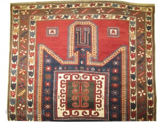 "Sevan-Kazak Caucasian, dated 1323 = 1905, antique, collectors item, 246 x 170 (cm) 8' 1"" x 5' 7""  carept ID: RS-379