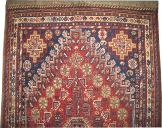"Qashqai Persian circa 1918, antique, collector's item, Size: 194 x 106 (cm) 6' 4"" x 3' 6""  carpet ID: K-4197 