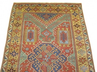 "Bergama Anatolian, circa 1840 antique, collector's item, Size: 283 x 181 (cm) 9' 3"" x 5' 11""  carpet ID: BV-1 