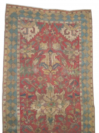"Tschelaberd Caucasian, knotted circa in 17th century, antique, collector's item, museum standard, 298 x 131 (cm) 9' 9"" x 4' 4""  carpet ID: CC-22
