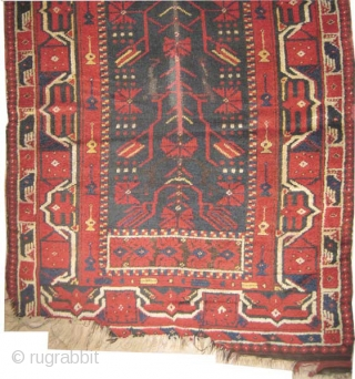 "Bergama Ada, prayer Anatolian circa 1870 antique. Collector's item. Size: 224 x 128 (cm) 7' 4"" x 4' 2""  carpet ID: K-5231 