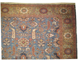 Bakshaish Heriz Pesian circa 1910 antique.