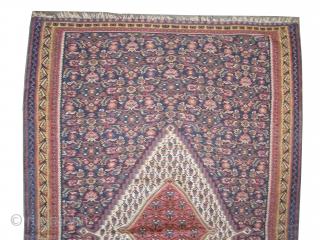 "Senneh kelim Persian pair the 2nd is A-75, circa 1900, antique. Collector's item, Size: 199 x 126 (cm) 6' 6"" x 4' 2""  carpet ID: A-68