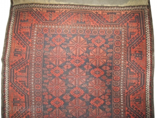 "Belutch Persian circa 1910 antique. Collector's item, Size: 178 x 110 (cm) 5' 10"" x 3' 7""  carpet ID: K-5295