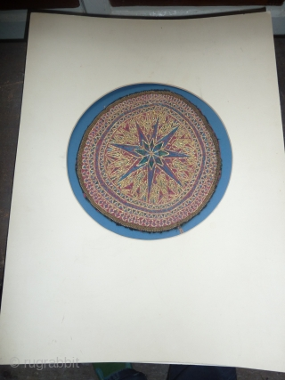 Persian embroidery, 25 cm, 9.8 inch dia.