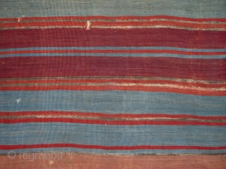 East Anatolian Kilim Fragment,80x270cm,first half 19th century,beautiful colors,very warm and pleasing palette,fine weave,proffessionaly mounted on linen.