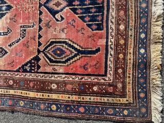 Antique luri Persian rug 3.4x8.9 approx  Overall good condition