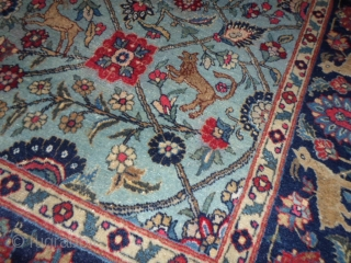Oriental antique persian carpet size cm. 198 x 140 cm.
