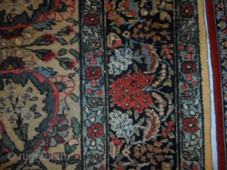 TABRIZ-Khoy. In good condition. All original ends and selvedges for this Persian carpet. More info and photos on request. GREETINGS  from COMO-Lake !