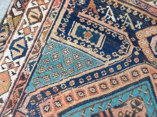 160x100 cm Tappeto antico Meshkin rug in very good condition.