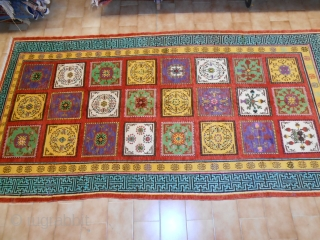 333 x 174 cm is the size of this carpet.
