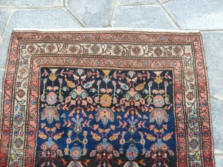 505 x 103  cm. MALAYER persian runner. Perfect conditions. No restored no repairs.