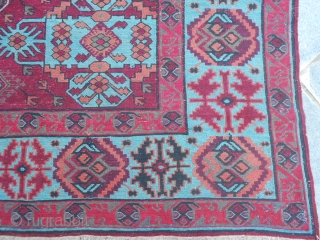 Caucasus SOUMACH in very very good conditions. Wool on wool. size 330x200 cm.