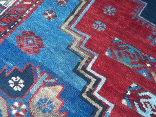 240 x 140 cm Tappeto ORIENTALE  CAUCASO  KAZAKH. Bejinning of XX° th. century Oriental carpet antique kazakh  In perfect condition = Full pile, no restors. More pictures or info on request. Thanks!  Greeting from   ...