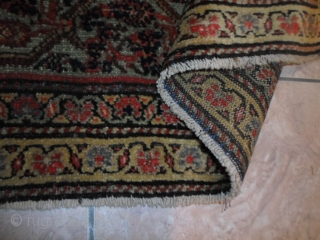 Serabend with very fine knot, size 200x130 cm. Carpet in very good condition. Beautiful fastened colors for this one. Washed and ready for use. Without restors or repils, odors, damages. Warm regards   from  ...