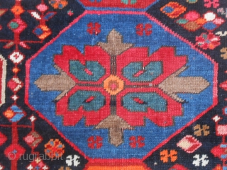 "One of my collectors' friend has named this Kazakh ""carpet LUNA-PARK"".
