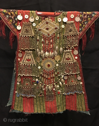 Turkmen tekke vintage handmade baby kaftan 