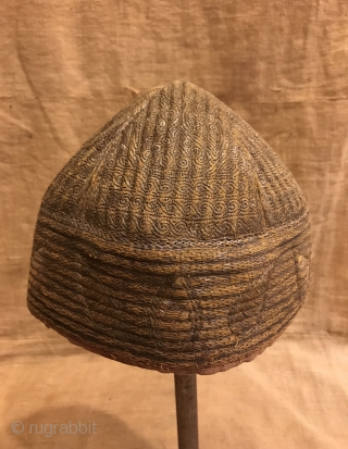 Vintage Pakistan kuchi dervish hat, unique tribal hat , nomads handmade hat   Size:  Circumference: 52 cm   Fast shipping all over the world,!   Thanks for visiting my shop :)