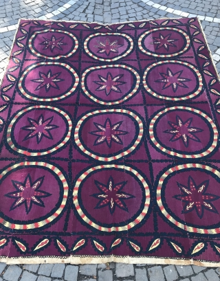 Vintage Uzbek tadjik Suzani bedcover 