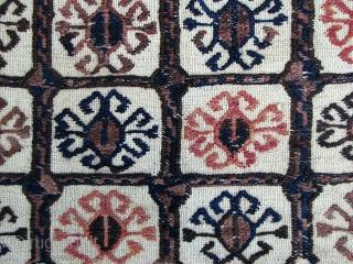 "Baluch Small Ru-Khorsi or Sofreh - 30"" x 32"" - 76 x 82 cm."