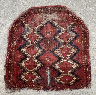 Central Asian Saddle Cover. Uzbek? Ersari?