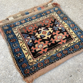 Northwest Persian Kurdish Bag - 2'2 x 2'1 - 66 x 64 cm. - Early Spring Sale :))