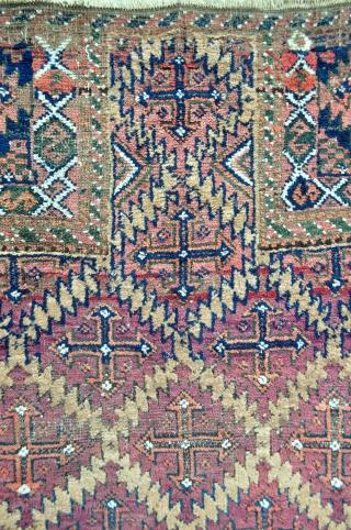 Baluch Prayer Rug - 2'11 x 4'9 ft. - 88 x 143 cm.