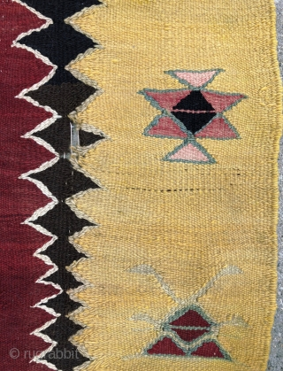 """""""Manastir"""" Prayer Kilim - 3'5 x 5'7 - 107 x 174 cm. - circa 1900"""