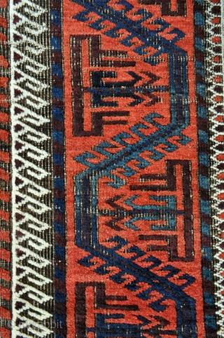 Mina Khani Baluch rug - 3'4 x 6'3 - 102 x 190 cm.