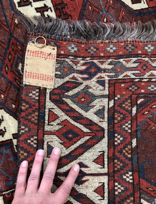 Yomud Main carpet - 5'6 x 7'9 - 171 x 240 cm.