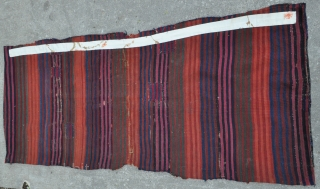 Southeast Anatolian Malatya Heybe/Saddle Bag - Cotton, Silk and Finest Wool. All colors appear to be from Natural source. Very fine weave. - one of the nicest ones I have seen, complete  ...