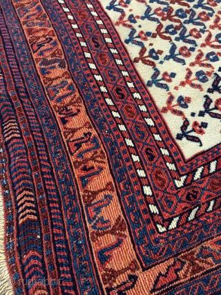 Afshar Horse cover - 4'3 x 6'6 - 130 x 198 cm.