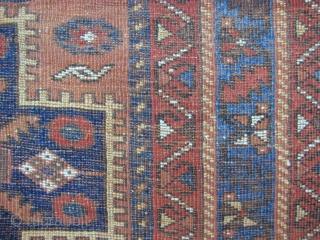Afshar rug - 5'0 x 6'5 ft. - 152 x 192 cm.