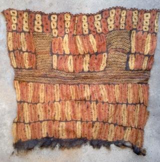 Did cloth detail, Ivory Coast, entire cloth approx. 70x80cm