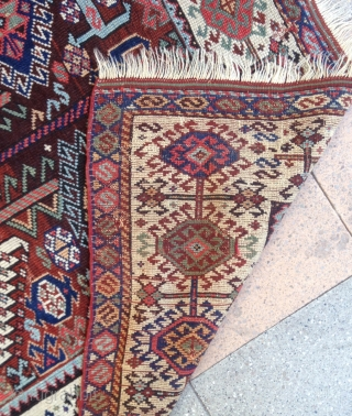 summer sale : A shekarlou Qashqayi in bad condition ( to restore ) some old reparrs on !