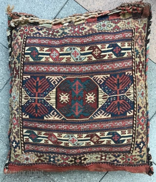 Exceptional Shahsevan bag from NW Iran Khamseh region, C 19Th size : 57x54cm, 