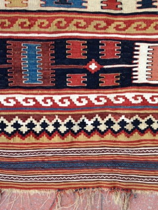 Charming Qashkai Kilim , 