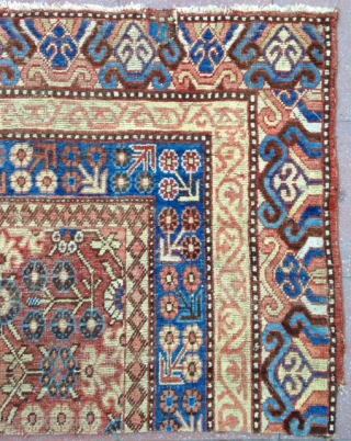 Beautiful type of Rare Kashkar rug ( fragment )