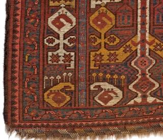 Turkmen Ersari rug 106 x 95 cm
