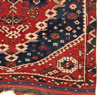 Anatolian rug Bergama 132 x 110 cm