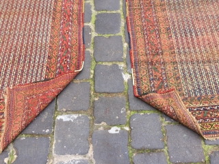 two similar rugs from afshar or could be khamseh south Persia size 190x140 cm