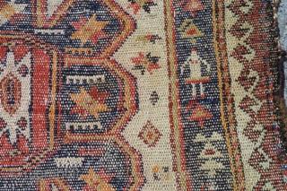 #765 Northwest Persian Bag Face ( Shahsavan? ) late 19th c. 1 -11 x 2.00 ft