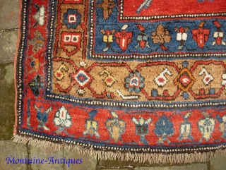 Karabagh-- 5.5 x 8 ft 9 in. Rare size main Carpet. Some condition issues but generally plush. Please call for condition Report. $30 UPS to lower 48. Check out  fresh posts  ...